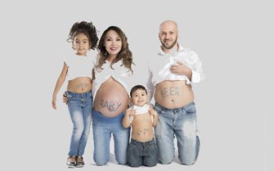 Kinderen bij de bevalling